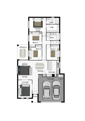 Daniel - Right Floor Plan