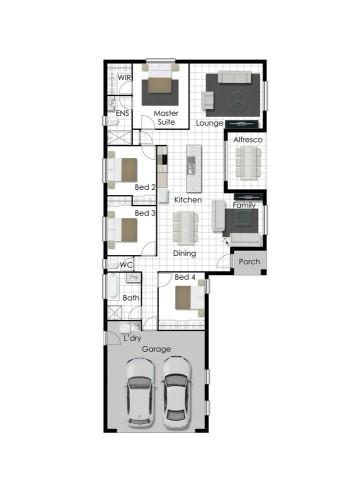 Ethan - Left Floorplan
