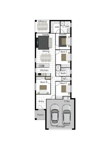 Jordan - Right Floorplan