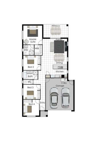 Leeann - Right Floorplan